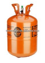 99.9% DOT/CE/KGS/TC gas refrigerant R407c