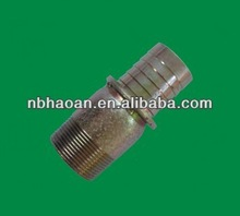 Al/SS,Steel,Brass Casting Thread Flexible Ferrul Joint Malleable With High Quality Hose KC Nipple Fitting