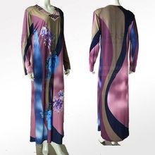 2013 New style Bead &Rhine Stone&Printing Wholesale Dubai Wome Abaya