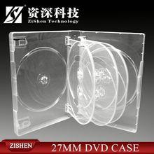 pp dvd case/box portable cd size dvd case