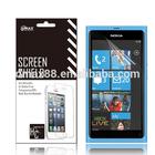 Color screen protector guards for Nokia lumia 800 oem/odm(Anti-Glare)