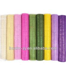 2014 China Popular floral mesh wrap Packaging Material