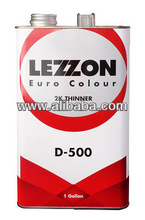 LEZZON Thinner D-500 for 2K Paint System
