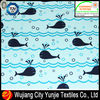 100 polyester printed peach skin fabric/whale printing fabric