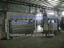 china 4X8ft 500T hydraulic plywood hot press machine