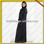 2013 Black Islamic Jilbab , abaya, islamic clothing