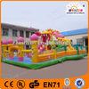 2014 Hot Sale New Design inflatable fire truck slide