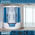 Hs-sr1600-2x deluxe buharlı duş, buhar duş jakuzi, prefabrik buhar odası
