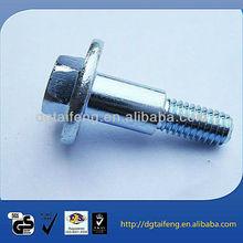 undercut screw with white zinc plated
