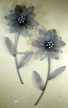 unique design flower decorative wrought iron wall art