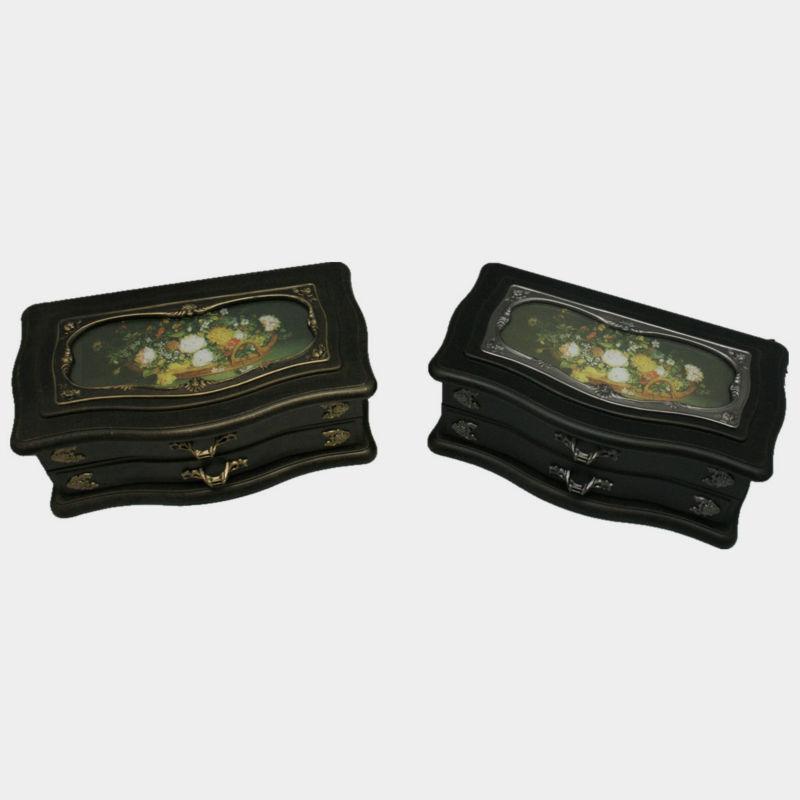 Two layer jewelry music gift box