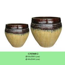 Outdoor ceramic planters/ ceramic flower pots