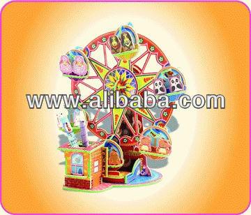 Magic Glow in the Dark DIY 3D Assemble Model - Ferris Wheel
