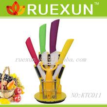 Ceramic Knives Set with Acrylic block