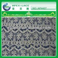 2013 new fashion lace tops knit lace fabric-AP4427