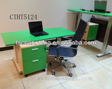 2 leg office table furniture with height adjustable by AC electric from 110V to 230V.