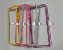 manufacture cheaper tpu bumper for iphone5,bumpers cover