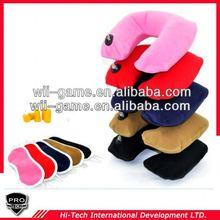 3in1 Set Travel u shape travel pillow earplug eyemask neck support cushion