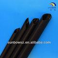 3x/4x adhesivo- forrado negro con aislamiento de calor de poliolefina tubería de encogimiento