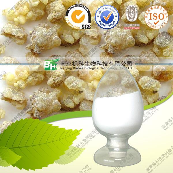 herbal extracts like tribulus, coleus, boswellia serrate dry extract, gum olibanum, oleoresins
