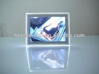 slim led menu light box for display