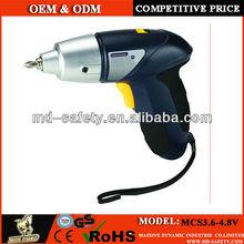 3.6v-4.8v mini cordless screwdriver