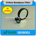 Cámaras para filtro de paso de banda de 510 nm para microscopios