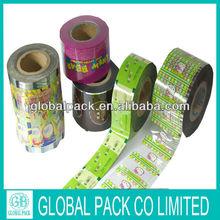 Printing plastic film for flexible packaging design/PVC heat shrink plastic bottle label