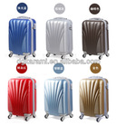 """20""""24""""28"""" trolley abs hard case luggage set, travel suitcase factory 201"""