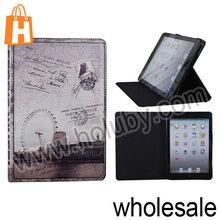 Retro Envelope Style Folio Leather Case Cover for iPad Mini/Retina iPad Mini with Stand