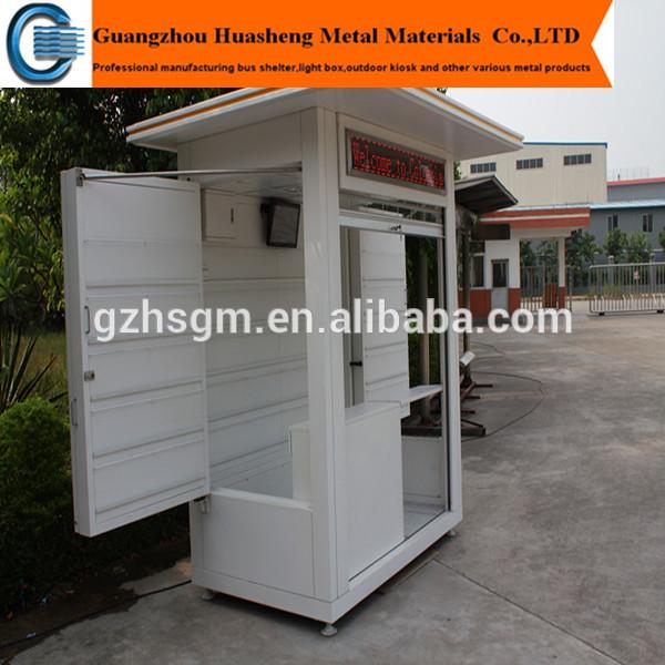 Modern outdoor kiosk design outdoor newspaper kiosk for Exterior kiosk design