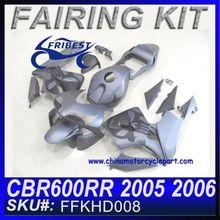 For HONDA Fairing Motorcycle CBR600RR 05 06 GREY COLOR WITH SKULL FFKHD008