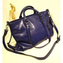 Oil Pu Handbag Royal Bag for Women