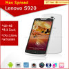 5.3'' Lenovo S920 MTK6589 Quad Core 1.2GHz 1G RAM 4G ROM Android 4.2 8MP Dual Camera Android Phones