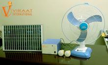 Solar DC light & Fan