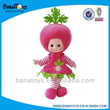 Cute fruit doll dress up cloth dolls
