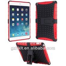 Tough rugged kickstand case for ipad air ipad 5