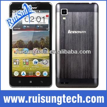 Lenovo P780 phone MTK6589 quad core 1.2GHz 4000mAh 1GB/4GB 1280X720 Camera 8.0MP 3G Smart phone Android4.2