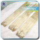 fashion wholesale virgin straight blonde remy human hair weaving