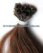 Top Quality 100% Brazilian Human Virgin Remy Hair Keratin Bonds