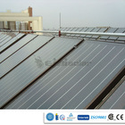 Flat panel environmental protection pressurized home flat plate solar water heater collector