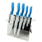 Higth quality 5pcs non-stick color kitchen knife set