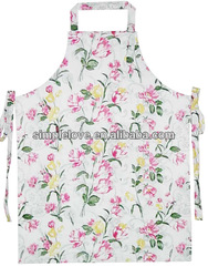 Wholesale Cotton Printed Custom Apron For Garden