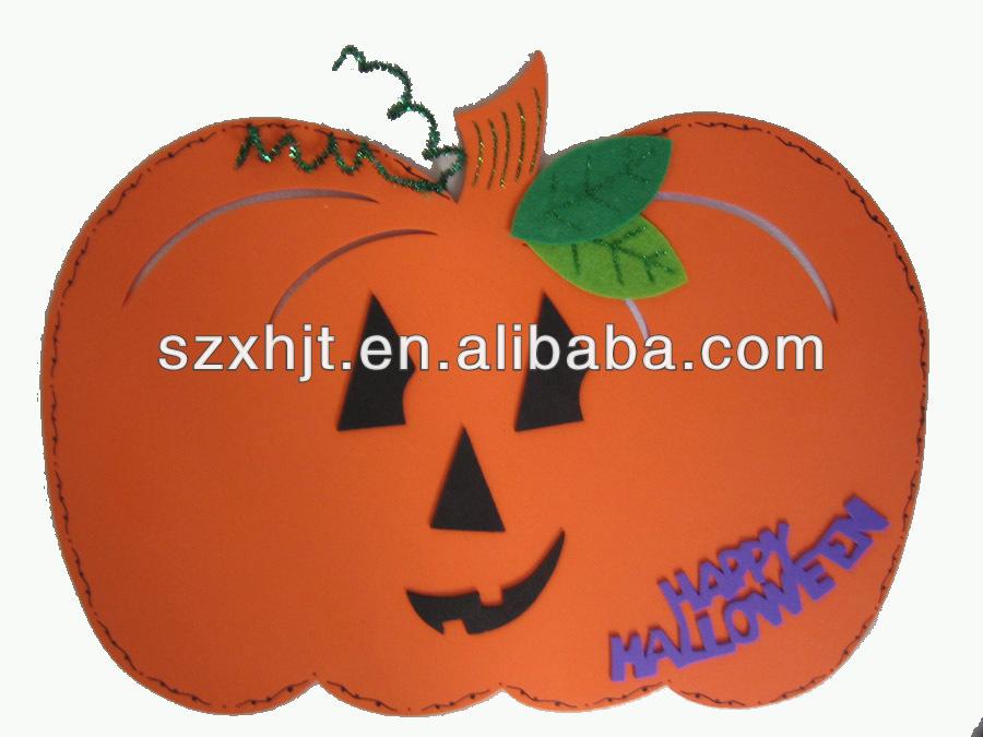 Made by me holloween EVA foam pumpkin