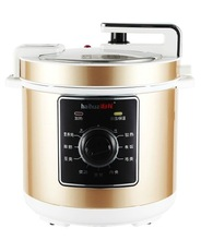 gold color mechanical electric pressure cooker with Non-Stick Coating Inner Pot