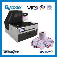 Hot sale memjet technology 1600dpi*1600dpi VIP color VP700 inkjet color label printer