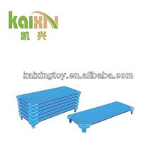 2014 Preschool Furniture Plastic Kid Bed/Kindergarten Bed Furniture/Kids Cot Bed