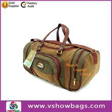 Canvas Leather Fashion Travel Bag, Handbag