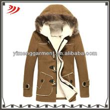 Alta calidad modelos de abrigos de lana para la mujer