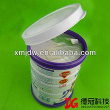 anti-theft milk powder can cap plastic easy open lid wholesale price